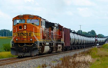 Доставка продукции железнодорожным транспортом